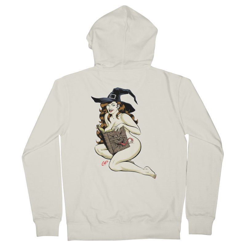 NECRONOMNOMNOM Women's Zip-Up Hoody by The Art of Coop