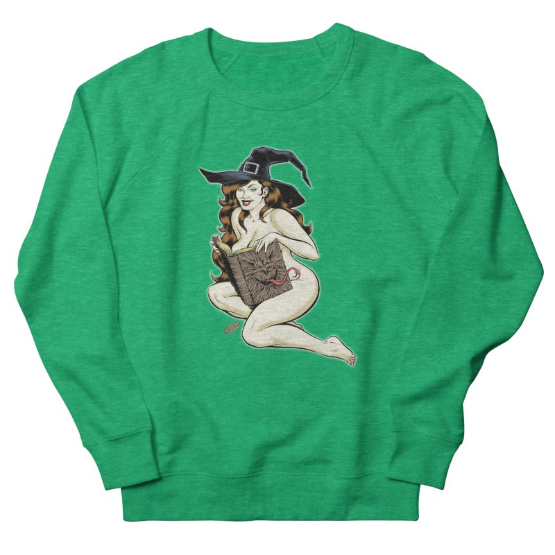 NECRONOMNOMNOM Women's French Terry Sweatshirt by The Art of Coop