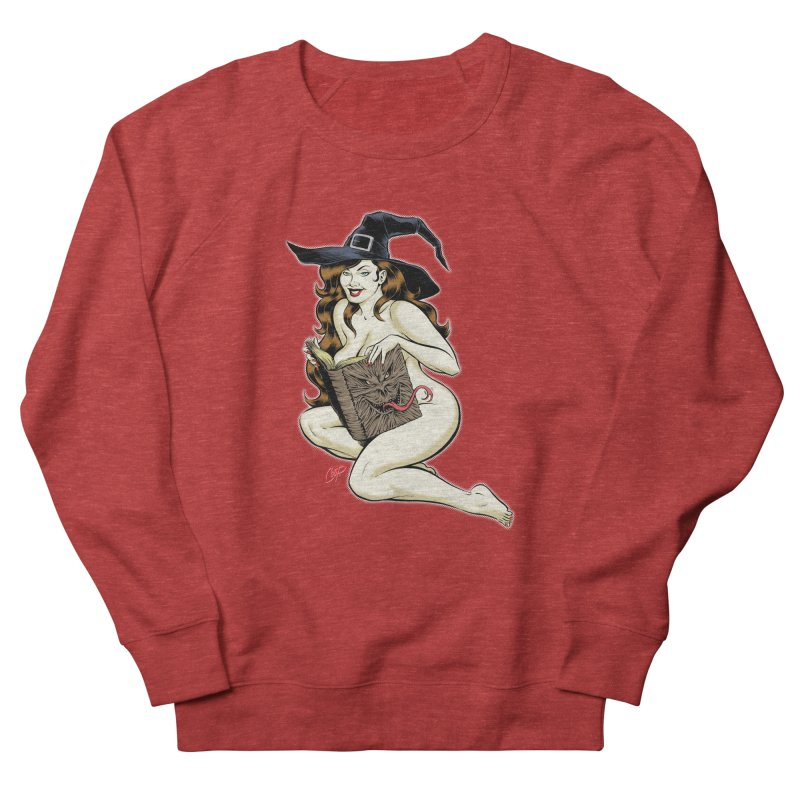 NECRONOMNOMNOM Women's French Terry Sweatshirt by artofcoop's Artist Shop
