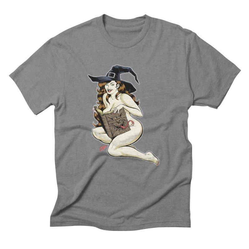NECRONOMNOMNOM Men's Triblend T-shirt by artofcoop's Artist Shop