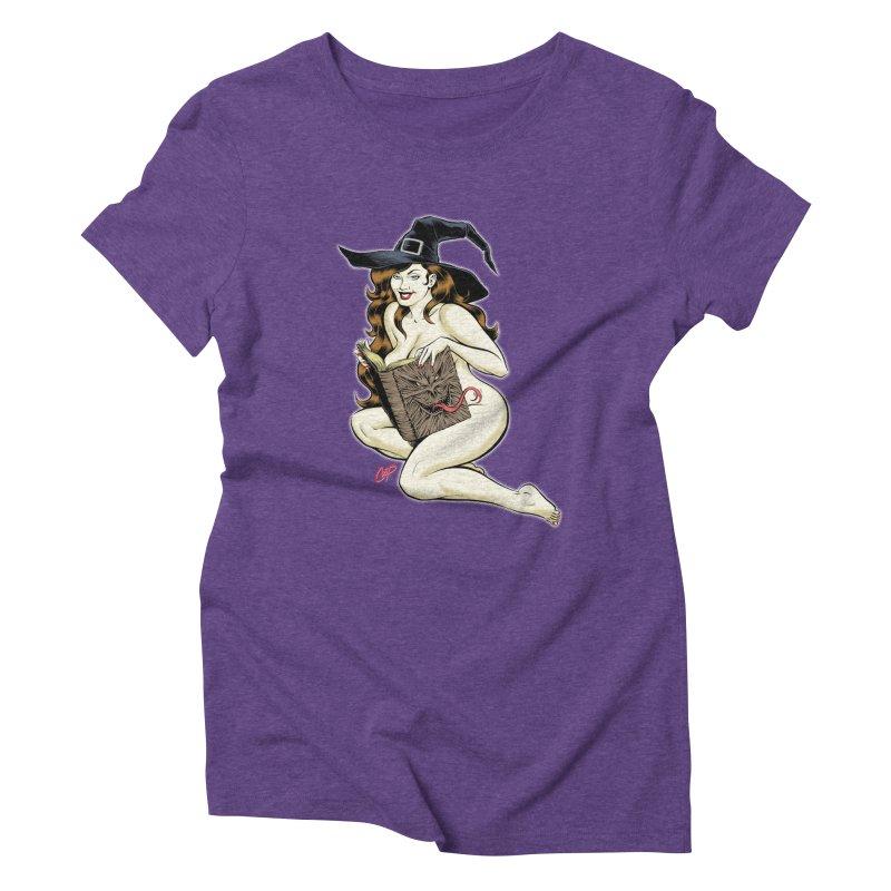 NECRONOMNOMNOM Women's Triblend T-Shirt by artofcoop's Artist Shop