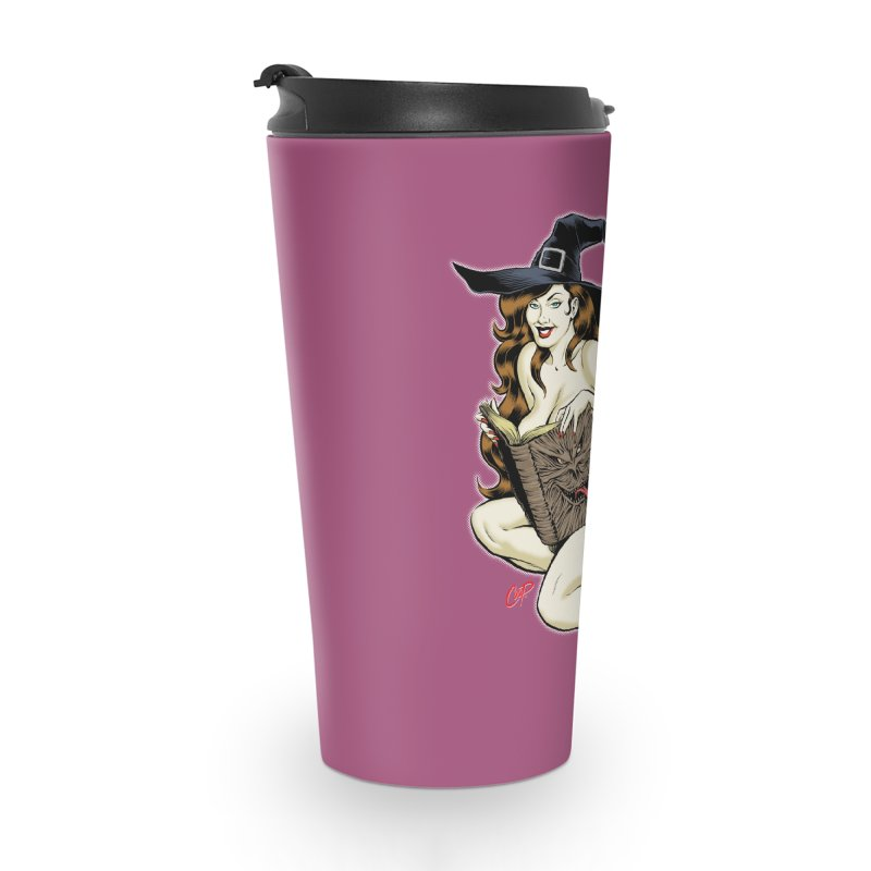 NECRONOMNOMNOM Accessories Travel Mug by The Art of Coop