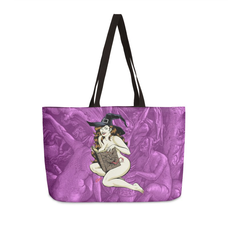 NECRONOMNOMNOM Accessories Weekender Bag Bag by The Art of Coop