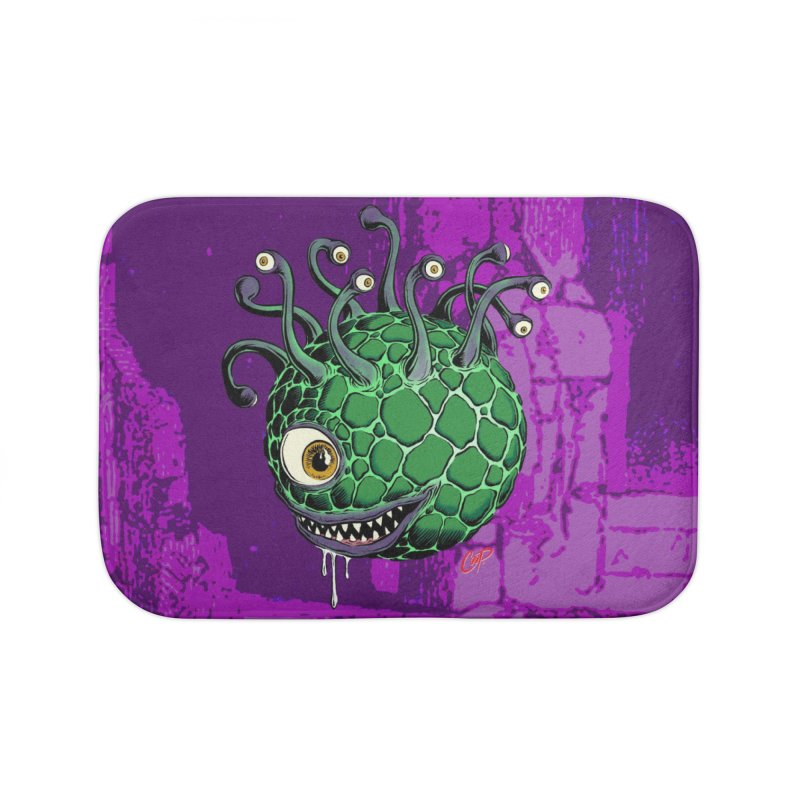 CAVERN CREEP Home Bath Mat by artofcoop's Artist Shop
