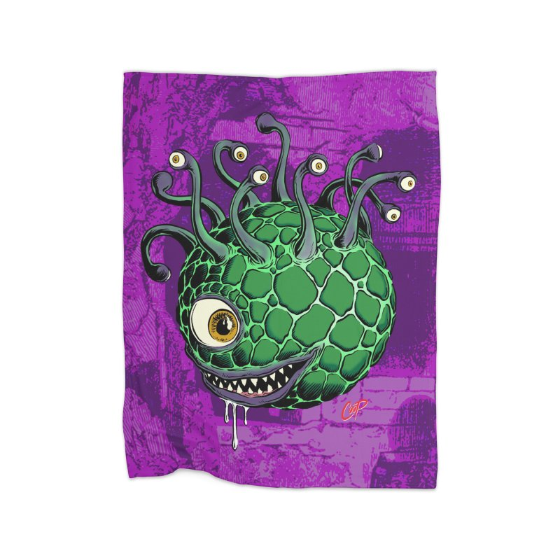 CAVERN CREEP Home Fleece Blanket Blanket by The Art of Coop