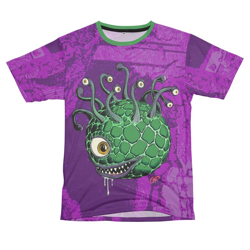 CAVERN CREEP Women's Unisex French Terry T-Shirt Cut & Sew by The Art of Coop