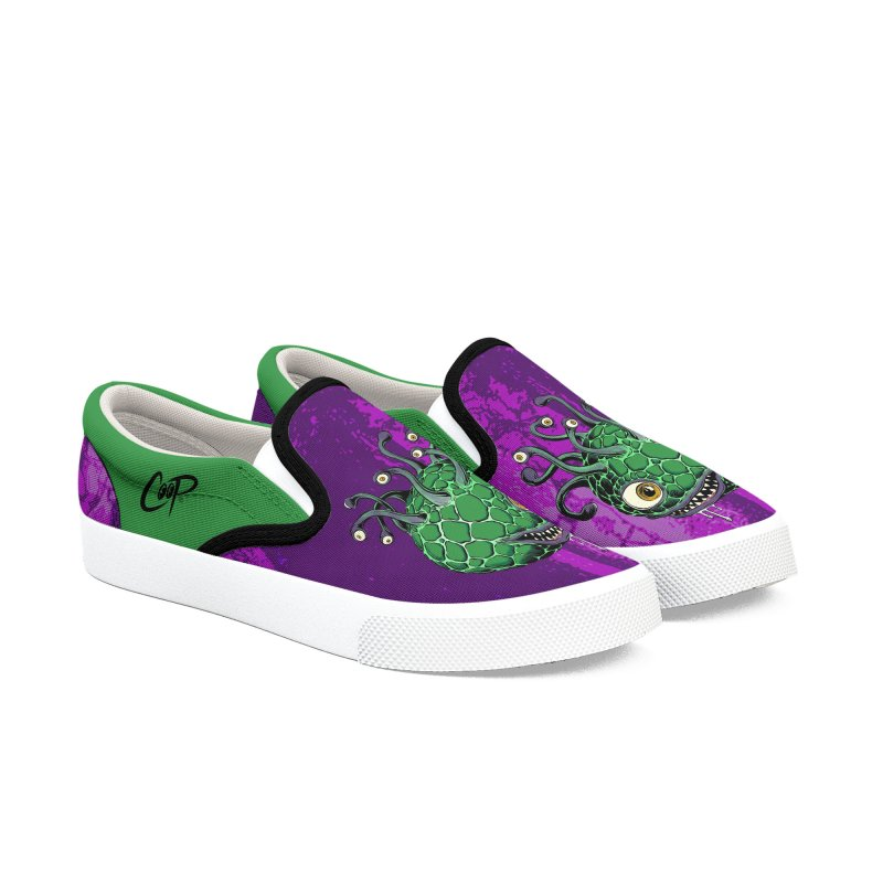 CAVERN CREEP in Men's Slip-On Shoes by artofcoop's Artist Shop
