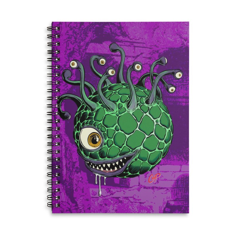 CAVERN CREEP Accessories Lined Spiral Notebook by The Art of Coop