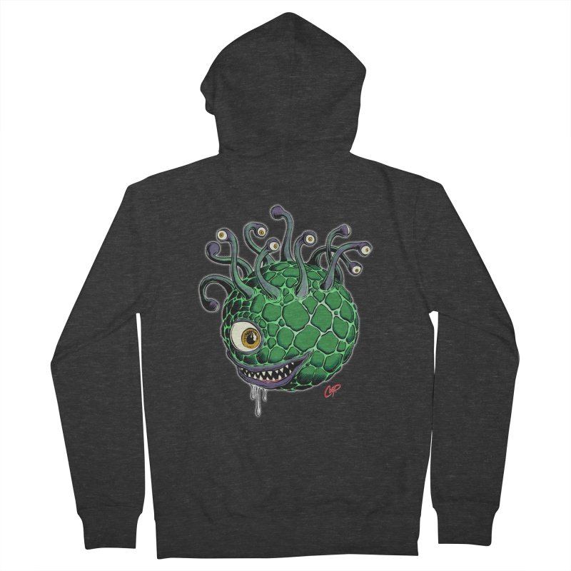 CAVERN CREEP Women's French Terry Zip-Up Hoody by artofcoop's Artist Shop