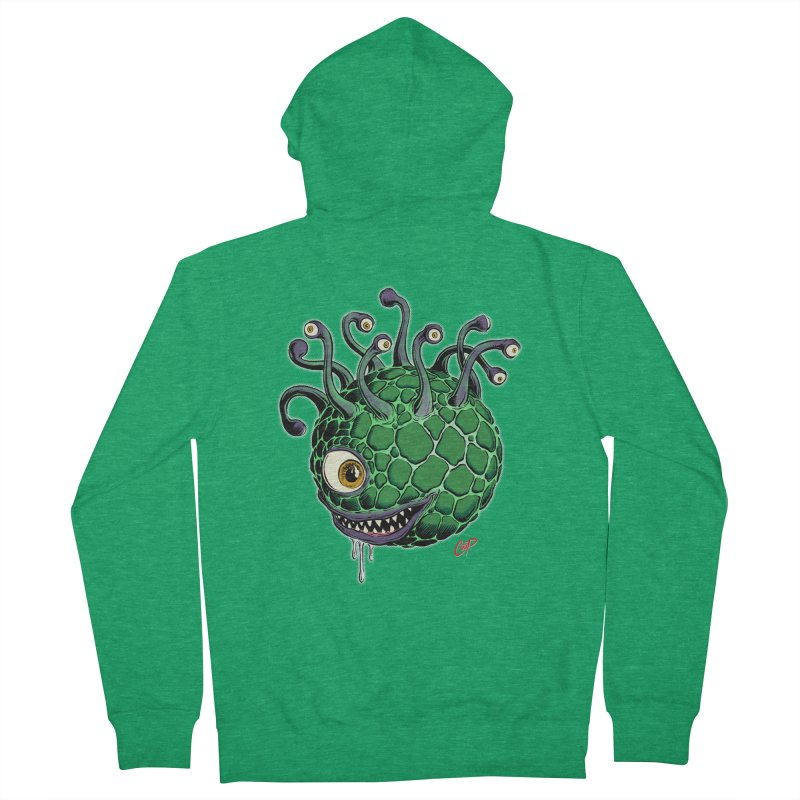 CAVERN CREEP Men's Zip-Up Hoody by artofcoop's Artist Shop