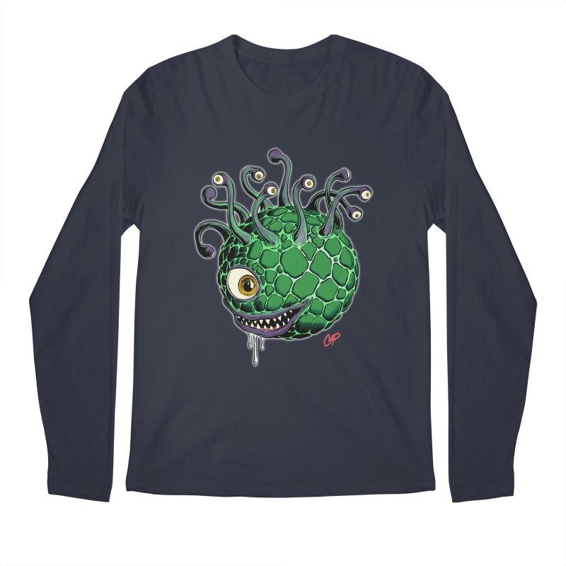 CAVERN CREEP Men's Regular Longsleeve T-Shirt by The Art of Coop