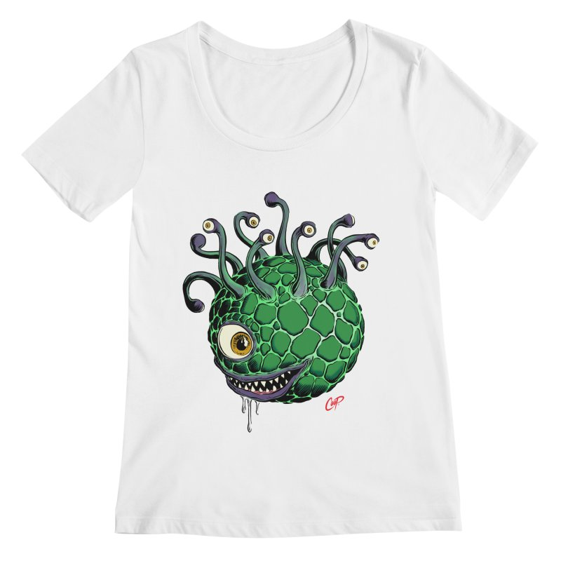 CAVERN CREEP Women's Regular Scoop Neck by artofcoop's Artist Shop