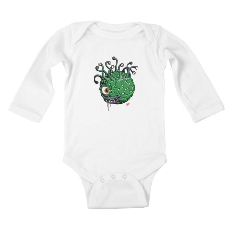 CAVERN CREEP Kids Baby Longsleeve Bodysuit by The Art of Coop
