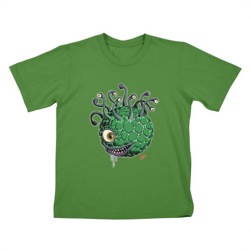 CAVERN CREEP Kids T-Shirt by artofcoop's Artist Shop