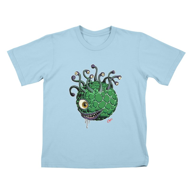 CAVERN CREEP Kids T-Shirt by The Art of Coop