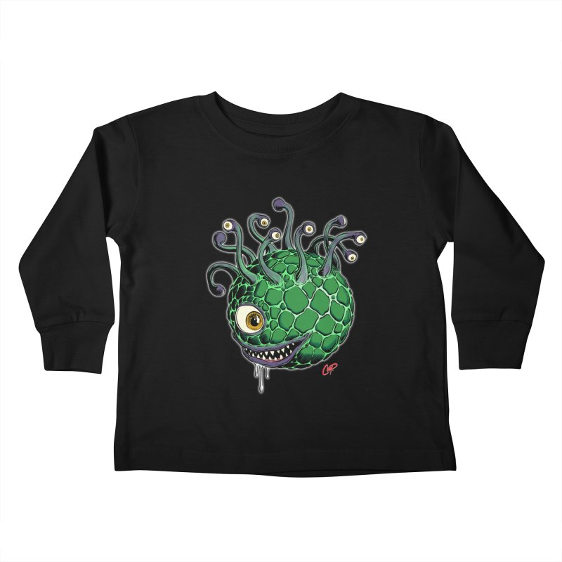 CAVERN CREEP Kids Toddler Longsleeve T-Shirt by The Art of Coop