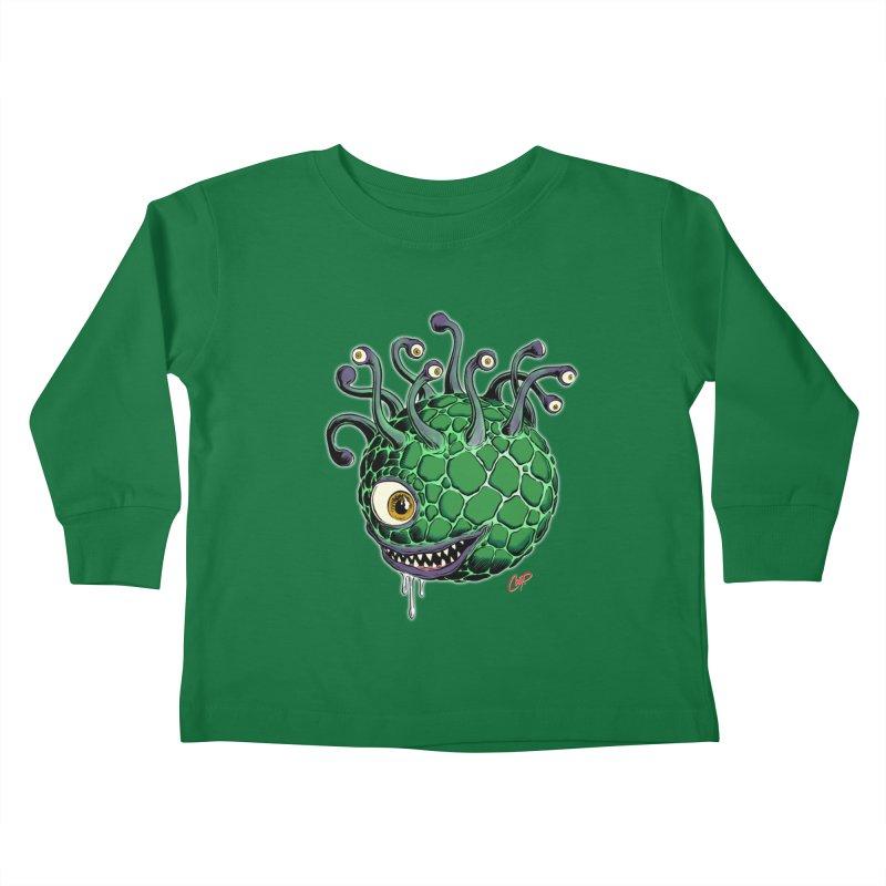CAVERN CREEP Kids Toddler Longsleeve T-Shirt by artofcoop's Artist Shop