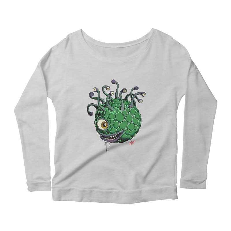 CAVERN CREEP Women's Longsleeve Scoopneck  by artofcoop's Artist Shop