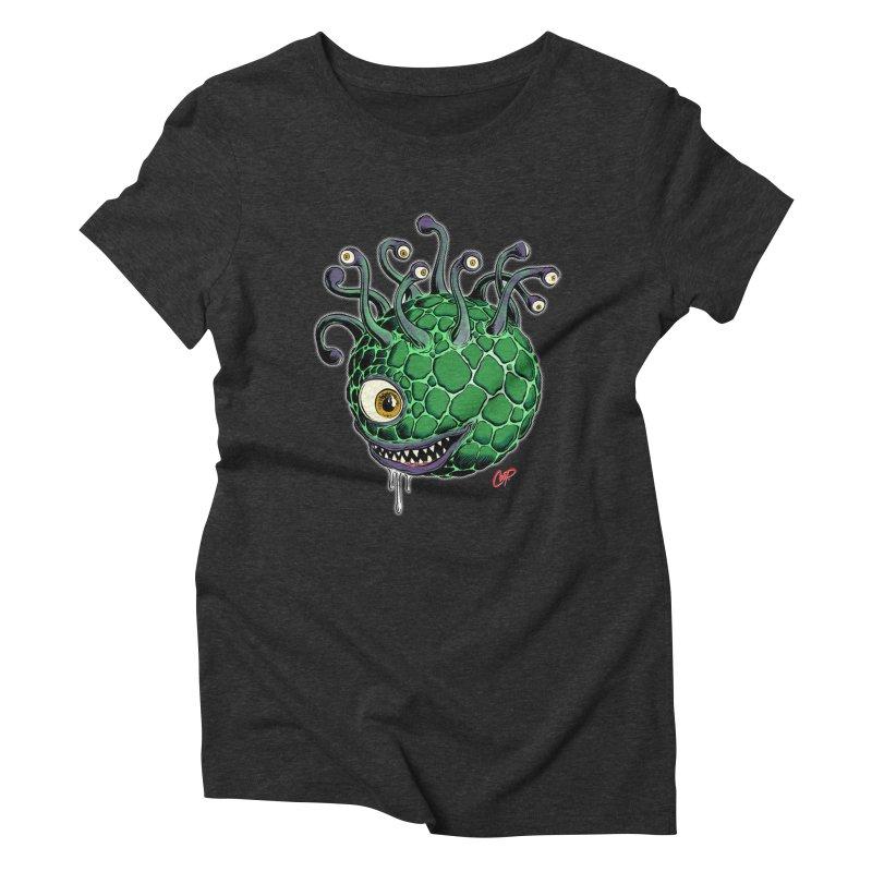 CAVERN CREEP Women's Triblend T-Shirt by artofcoop's Artist Shop