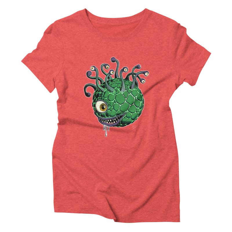 CAVERN CREEP Women's Triblend T-Shirt by The Art of Coop