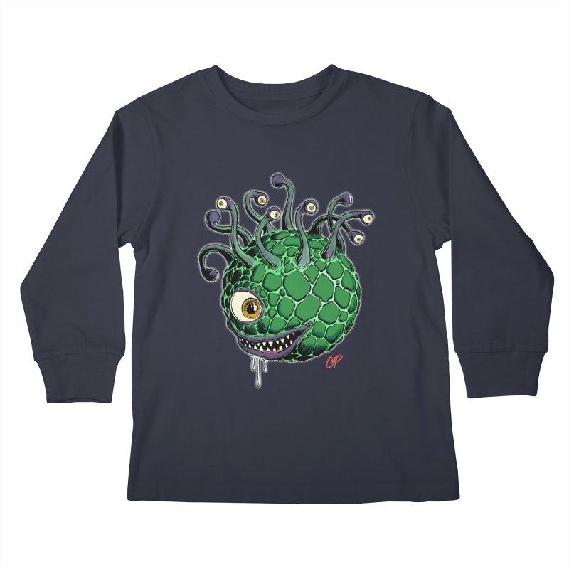 CAVERN CREEP Kids Longsleeve T-Shirt by The Art of Coop