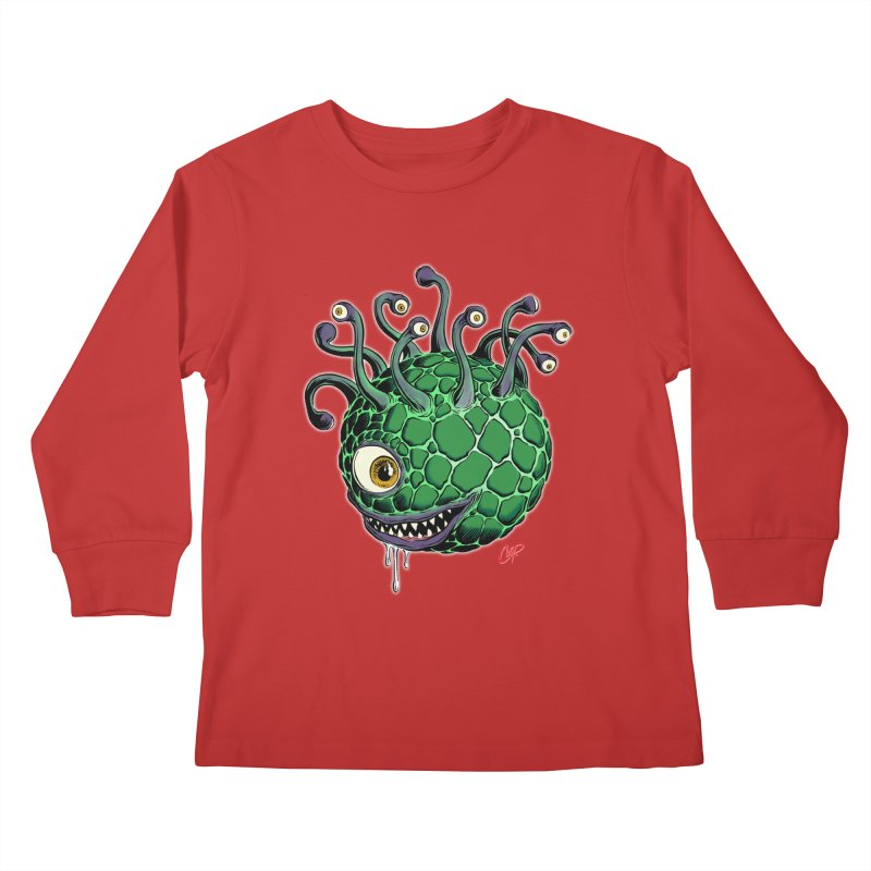 CAVERN CREEP Kids Longsleeve T-Shirt by The Art of Coop
