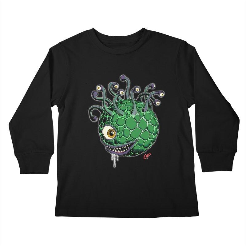 CAVERN CREEP Kids Longsleeve T-Shirt by artofcoop's Artist Shop