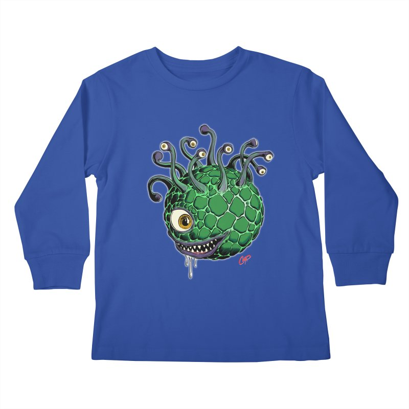 CAVERN CREEP Kids Longsleeve T-Shirt by artofcoop's Artist Shop