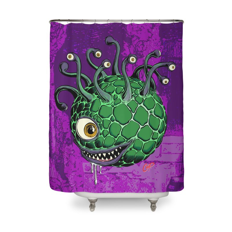 CAVERN CREEP Home Shower Curtain by artofcoop's Artist Shop