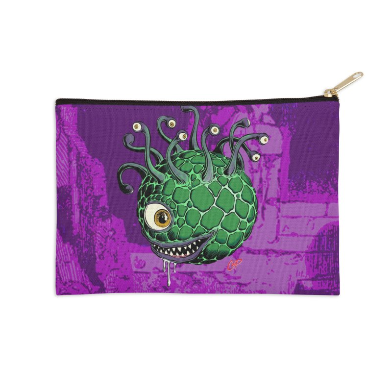 CAVERN CREEP Accessories Zip Pouch by artofcoop's Artist Shop