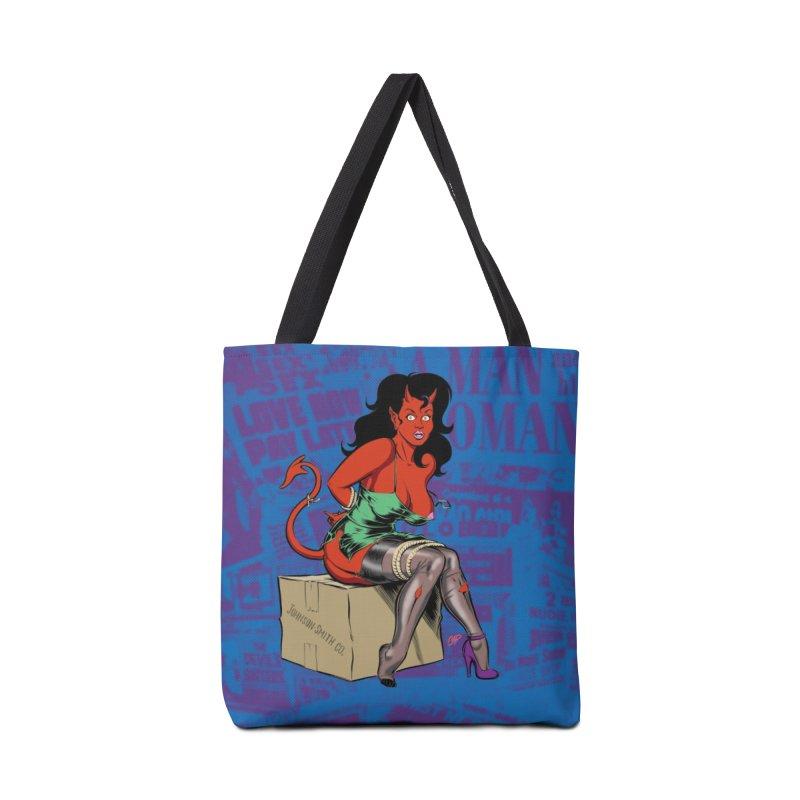 BONDAGE DEVIL GIRL Accessories Bag by artofcoop's Artist Shop