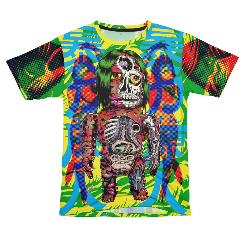 DISSECTED CAVEMAN Men's T-Shirt Cut & Sew by The Art of Coop