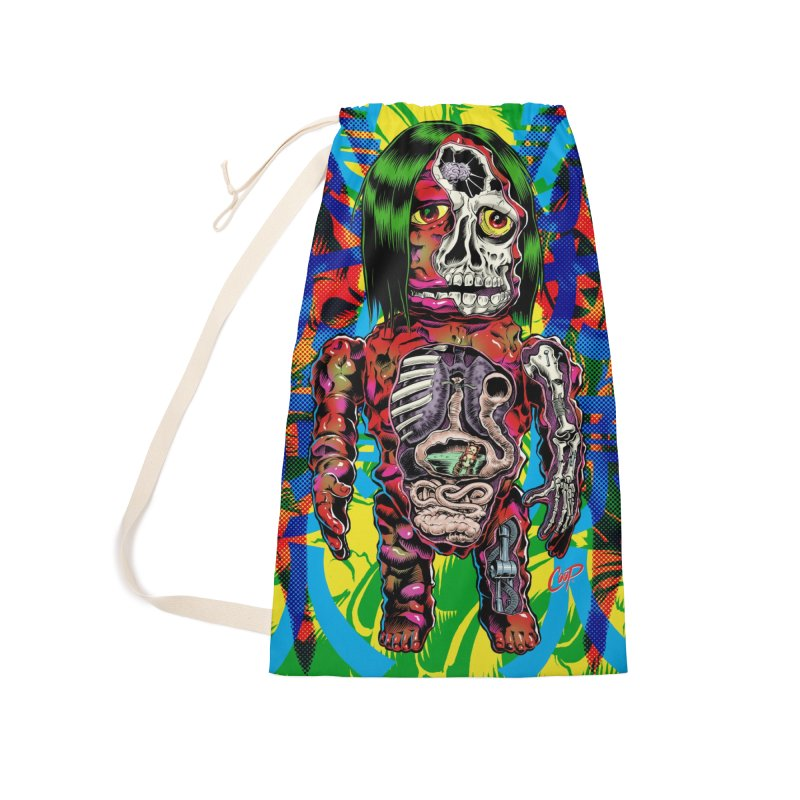 DISSECTED CAVEMAN Accessories Laundry Bag Bag by The Art of Coop