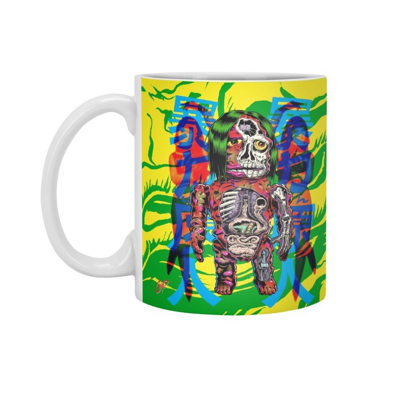 DISSECTED CAVEMAN Accessories Standard Mug by The Art of Coop