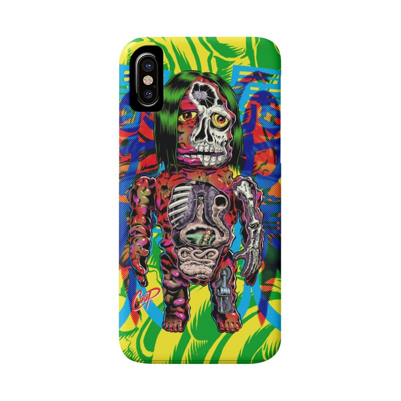 DISSECTED CAVEMAN Accessories Phone Case by artofcoop's Artist Shop