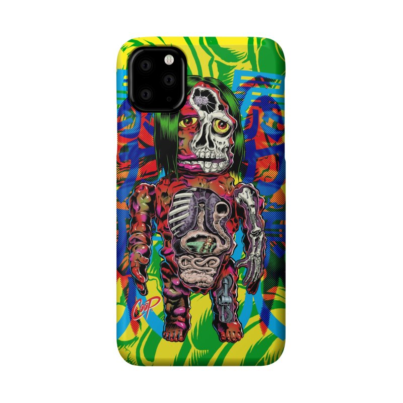 DISSECTED CAVEMAN Accessories Phone Case by The Art of Coop