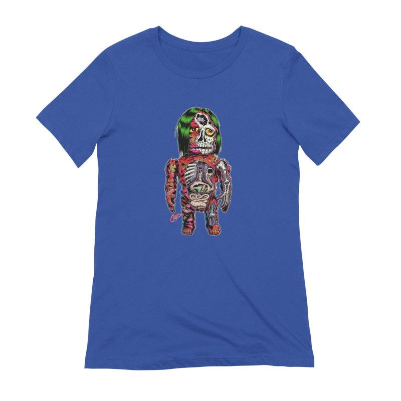 DISSECTED CAVEMAN Women's Extra Soft T-Shirt by artofcoop's Artist Shop
