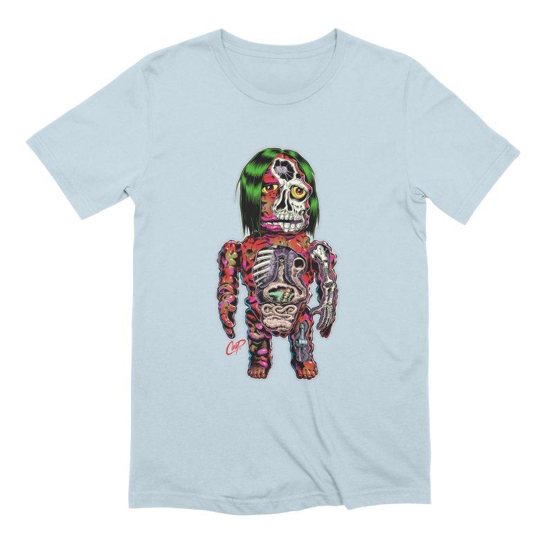 DISSECTED CAVEMAN Men's Extra Soft T-Shirt by artofcoop's Artist Shop