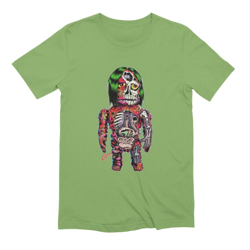 DISSECTED CAVEMAN Men's Extra Soft T-Shirt by The Art of Coop