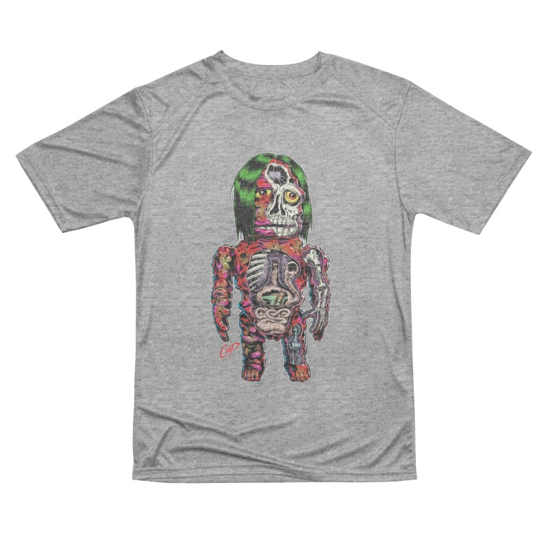 DISSECTED CAVEMAN Men's Performance T-Shirt by The Art of Coop