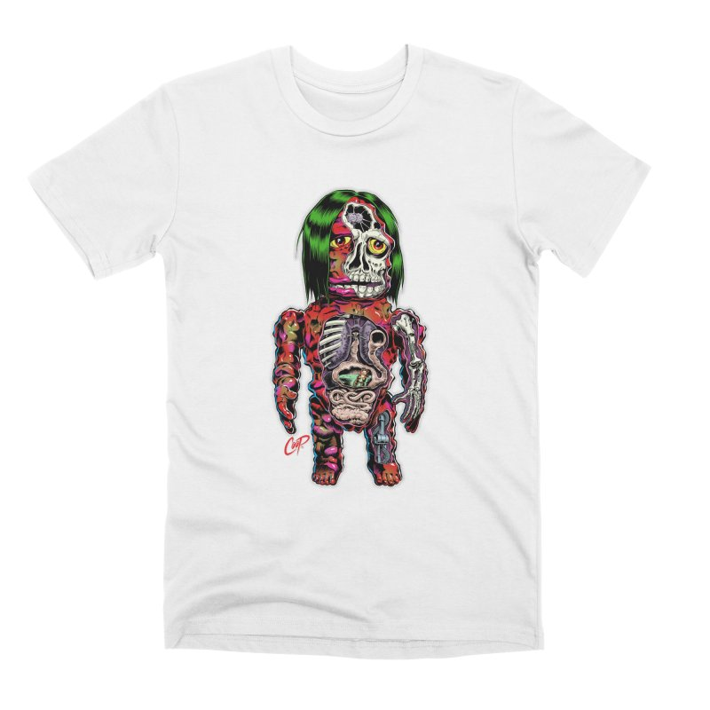 DISSECTED CAVEMAN Men's Premium T-Shirt by The Art of Coop