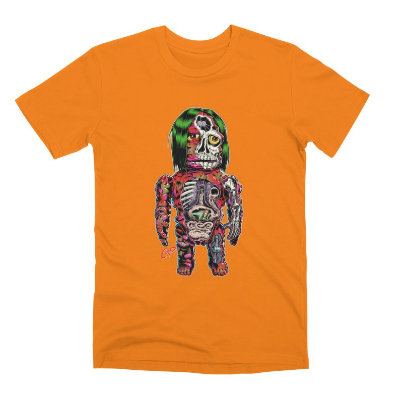 DISSECTED CAVEMAN Men's Premium T-Shirt by artofcoop's Artist Shop