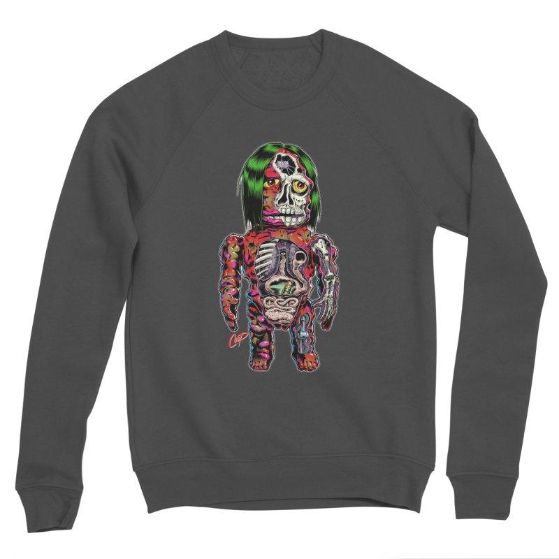 DISSECTED CAVEMAN Men's Sponge Fleece Sweatshirt by artofcoop's Artist Shop