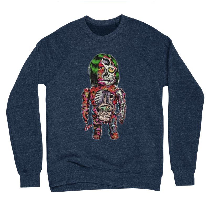 DISSECTED CAVEMAN Men's Sponge Fleece Sweatshirt by The Art of Coop