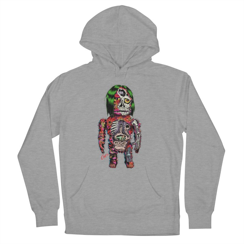 DISSECTED CAVEMAN Women's Pullover Hoody by The Art of Coop
