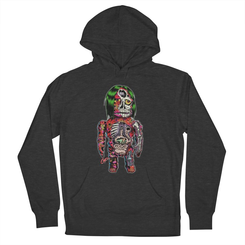 DISSECTED CAVEMAN Women's Pullover Hoody by artofcoop's Artist Shop