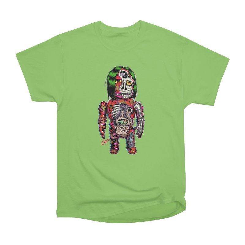 DISSECTED CAVEMAN Women's Heavyweight Unisex T-Shirt by The Art of Coop