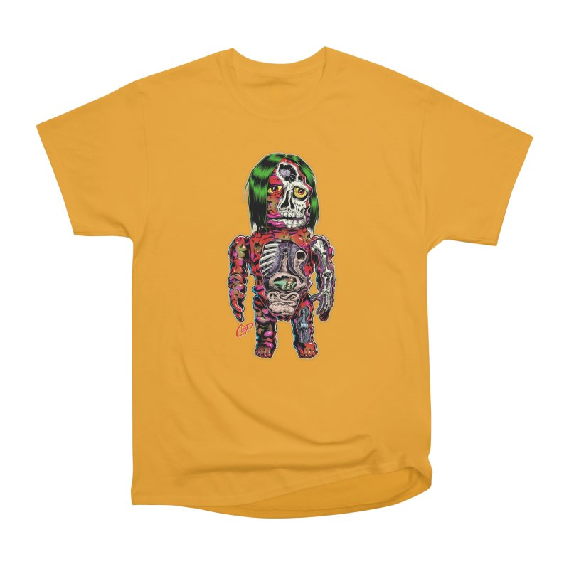 DISSECTED CAVEMAN Men's Heavyweight T-Shirt by The Art of Coop