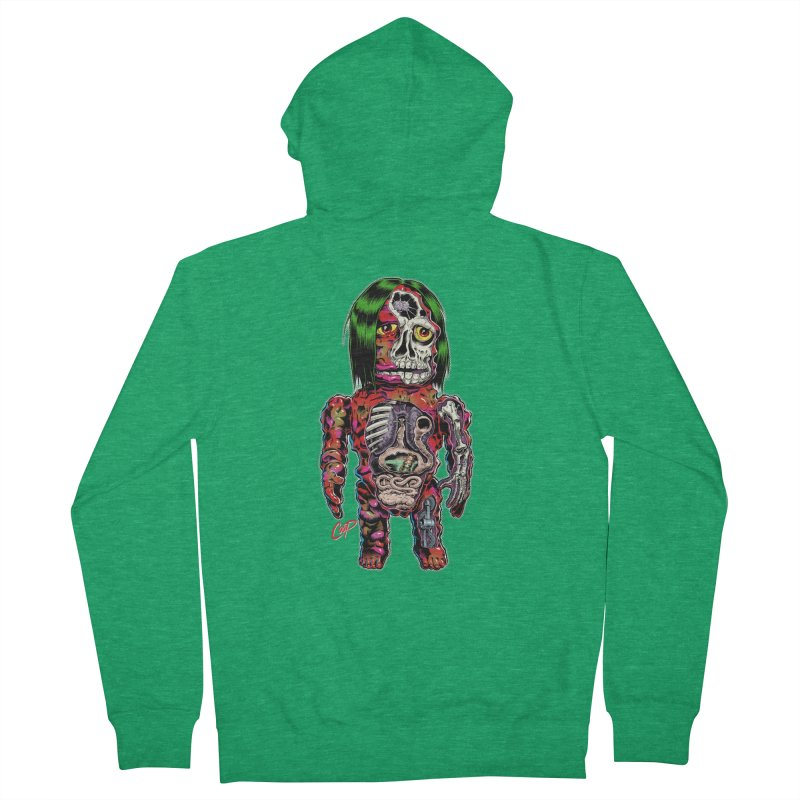 DISSECTED CAVEMAN Men's French Terry Zip-Up Hoody by artofcoop's Artist Shop