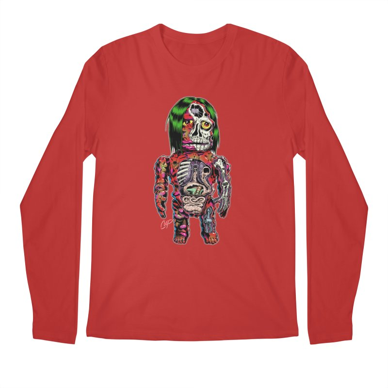 DISSECTED CAVEMAN Men's Longsleeve T-Shirt by artofcoop's Artist Shop